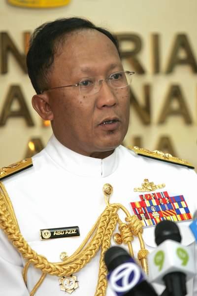 马来西亚海军司令:有权驱逐中国渔政船出去! - 汉子 - 汉子的博客